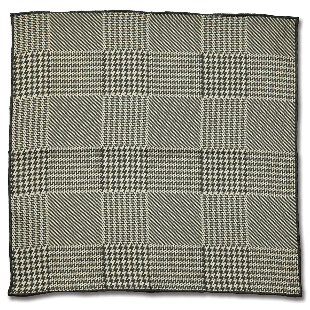 Houndstooth Check Grey