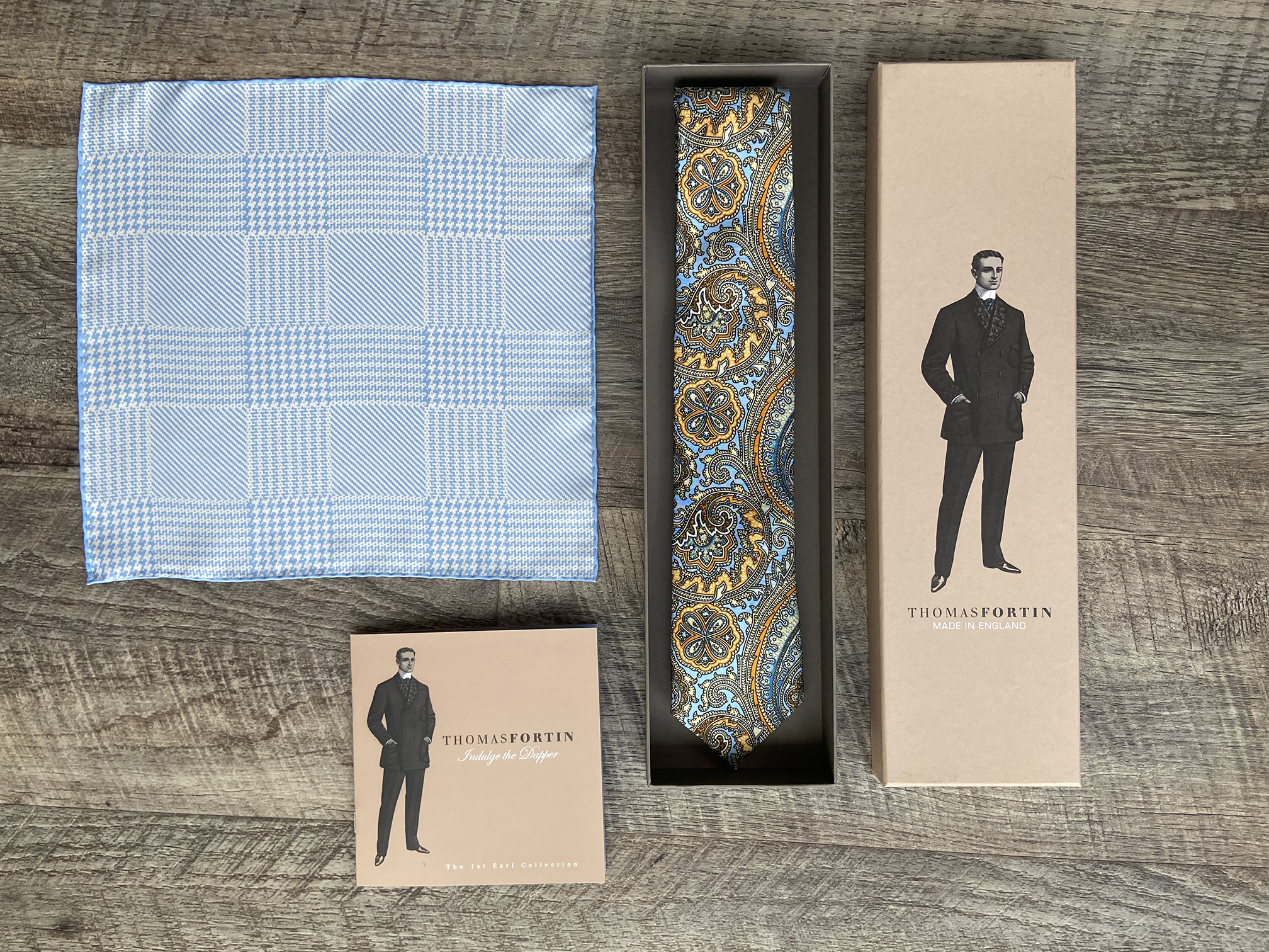 Collins and Houndstooth Blue (SAVE £20)