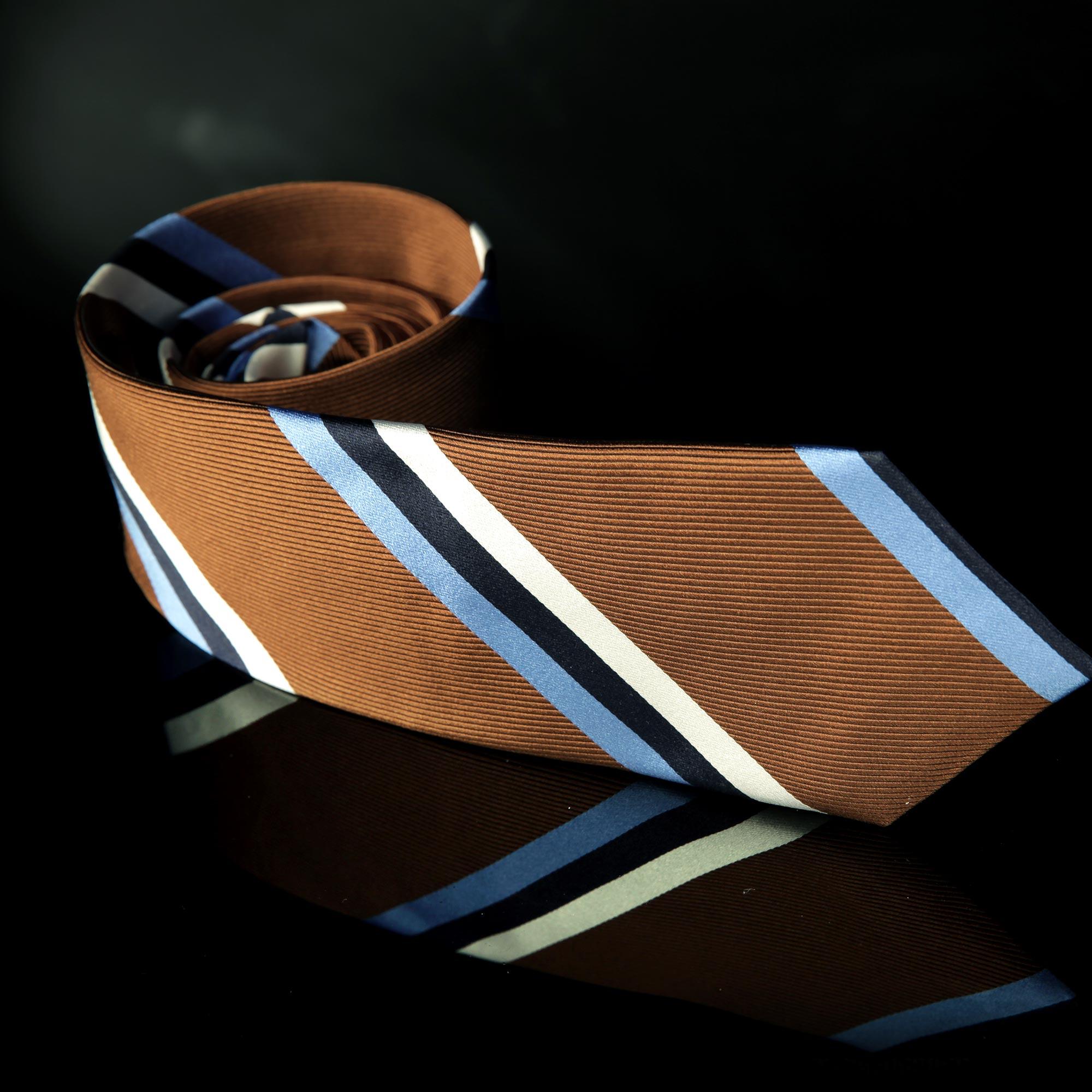 Bidlake Brown Stripe