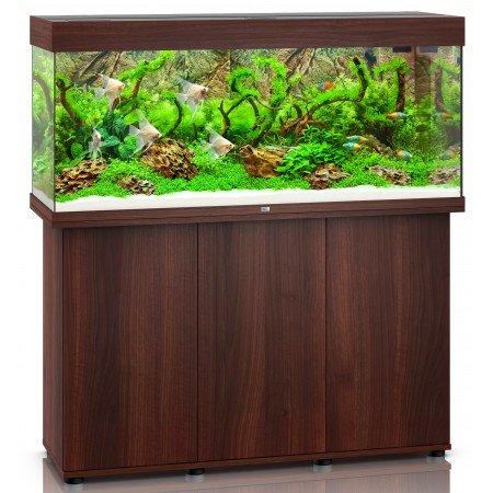 Juwel Rio 240 LED Aquarium and Cabinet in Dark Wood