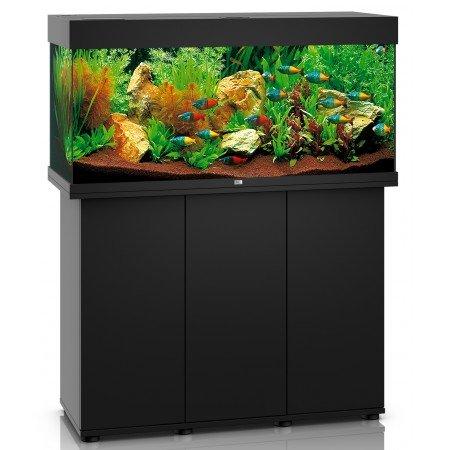 Juwel Rio 180 LED Aquarium and Cabinet in Black