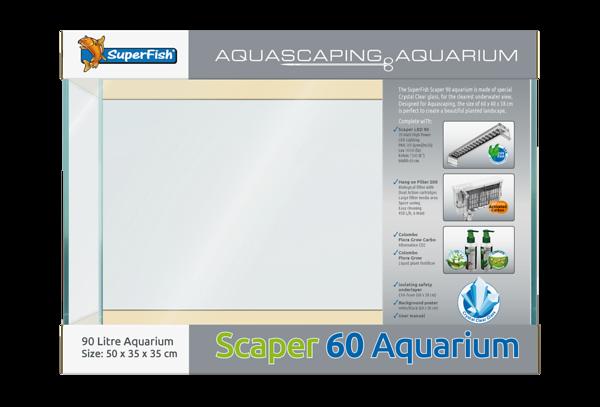 Superfish Scapers 60 Aquarium Set