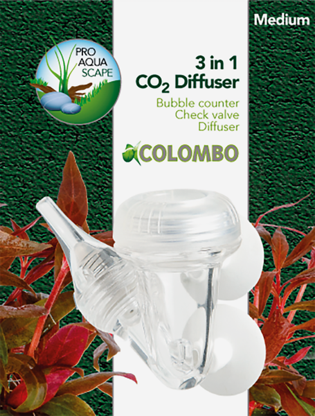 Colombo CO2 3 in 1 Diffuser Large