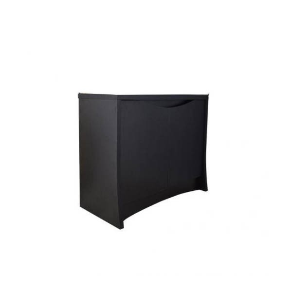 Fluval Flex Black 123L 2 Door Cabinet
