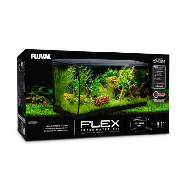 Fluval Flex 123L Aquarium Kit