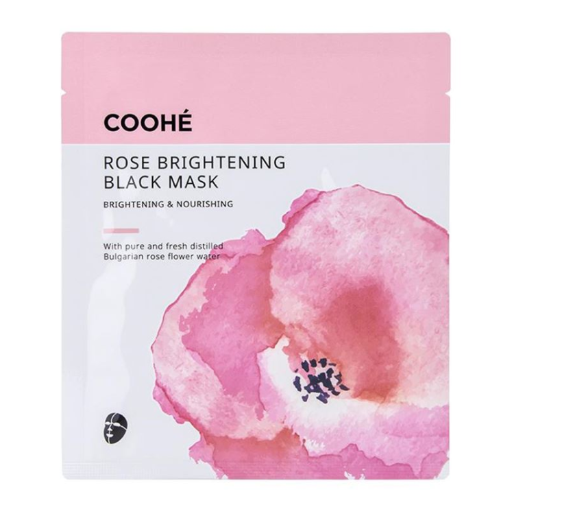Coohe ROSE BRIGHTENING BLACK MASK