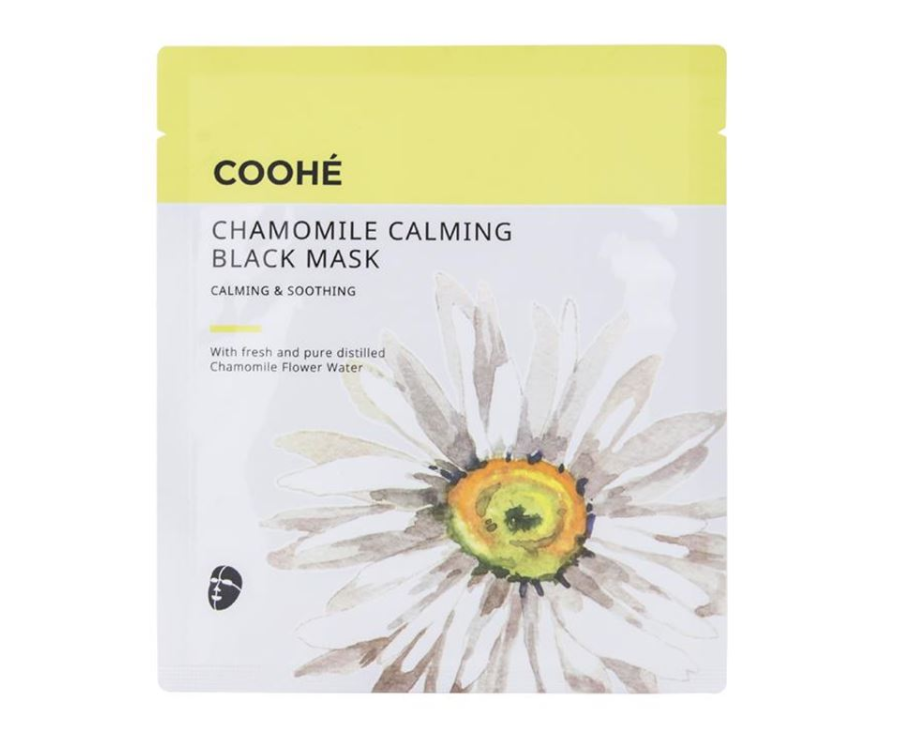 Coohe CHAMOMILE CALMING BLACK MASK