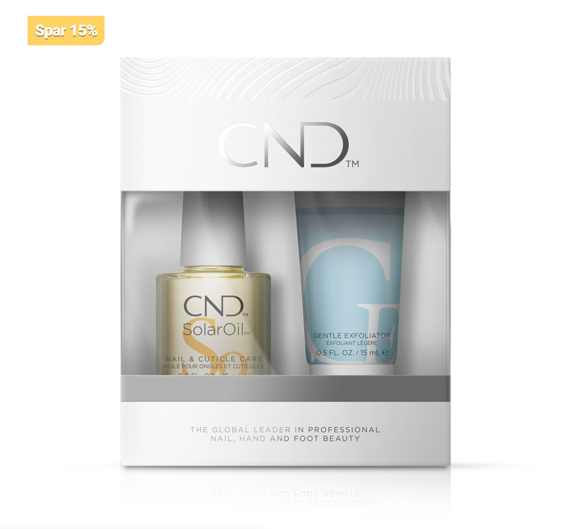 CND SolarOil™ + Cuticle Eraser Nail Care Kit