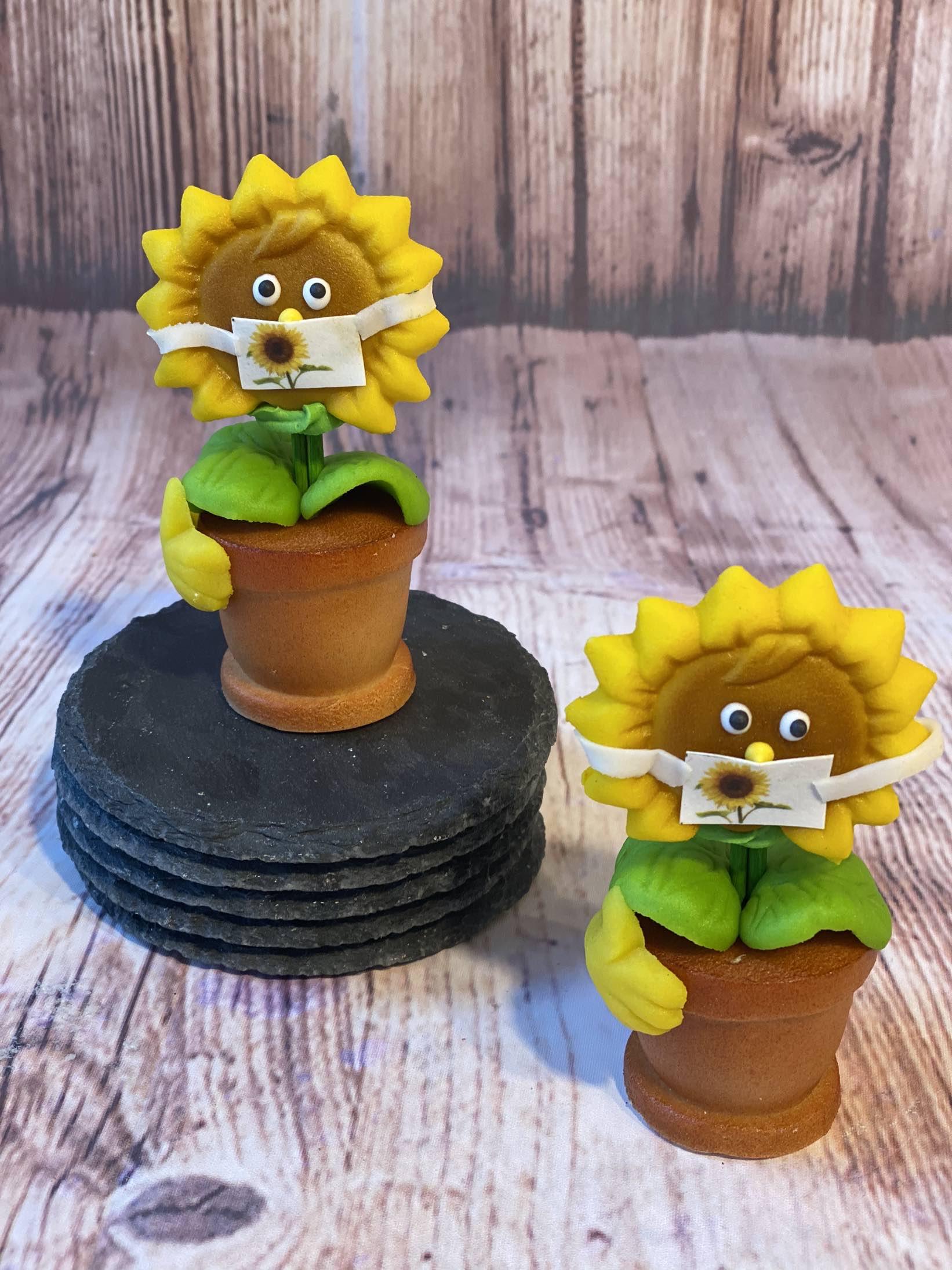 Sonnenblume (Marzipan)