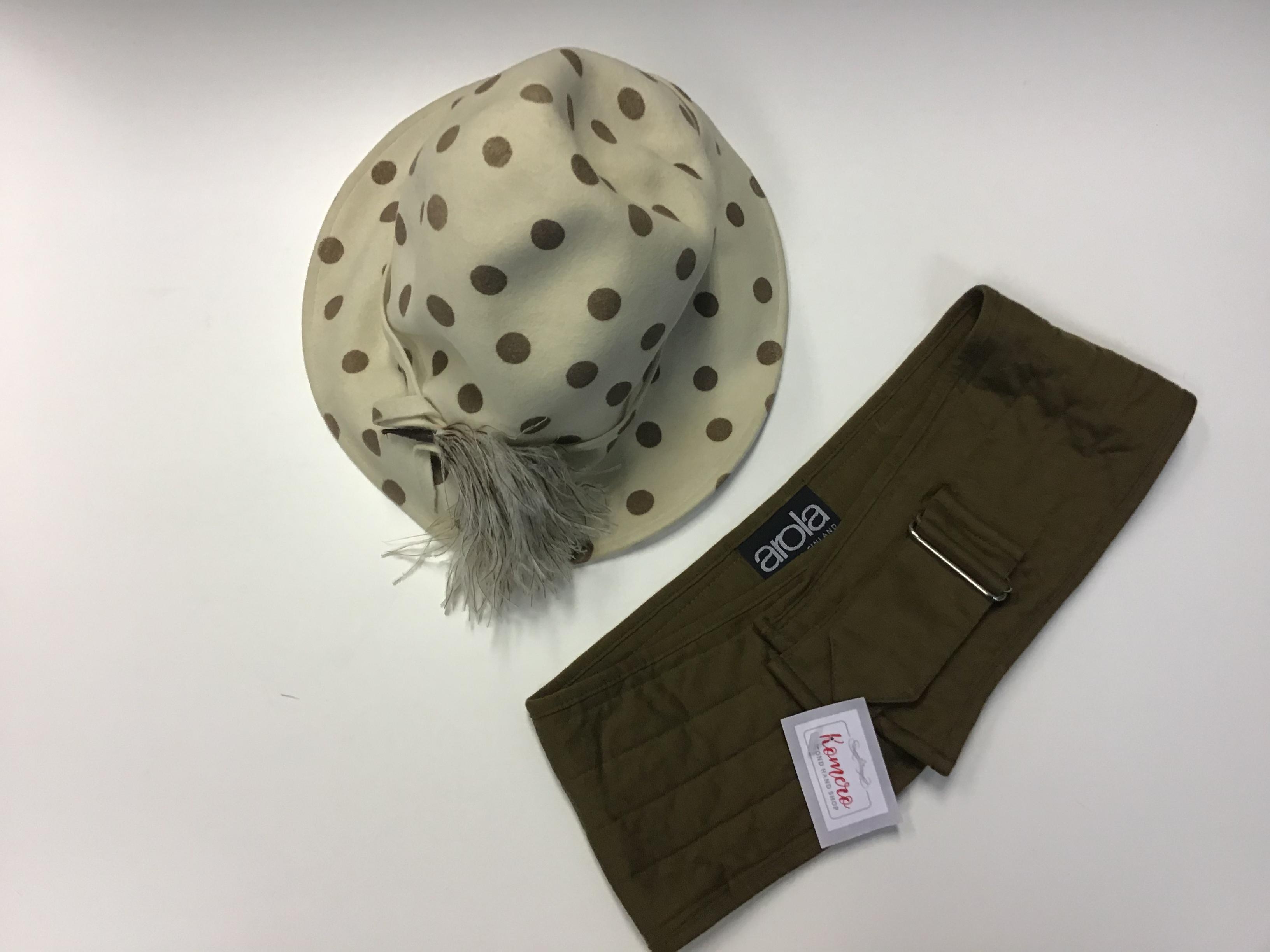 Hattu, vintage.