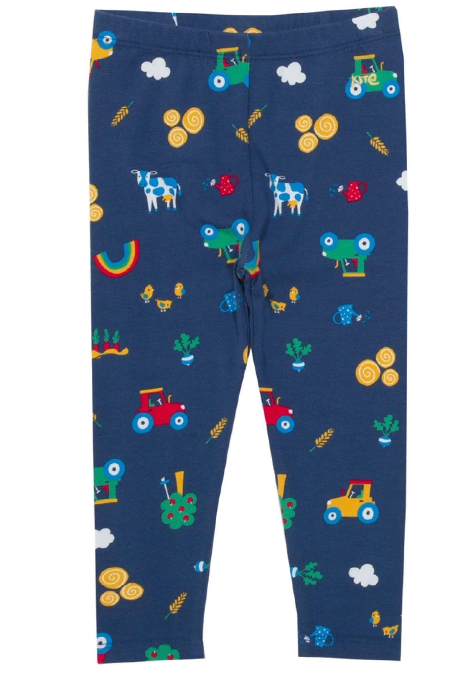 Farm play leggings