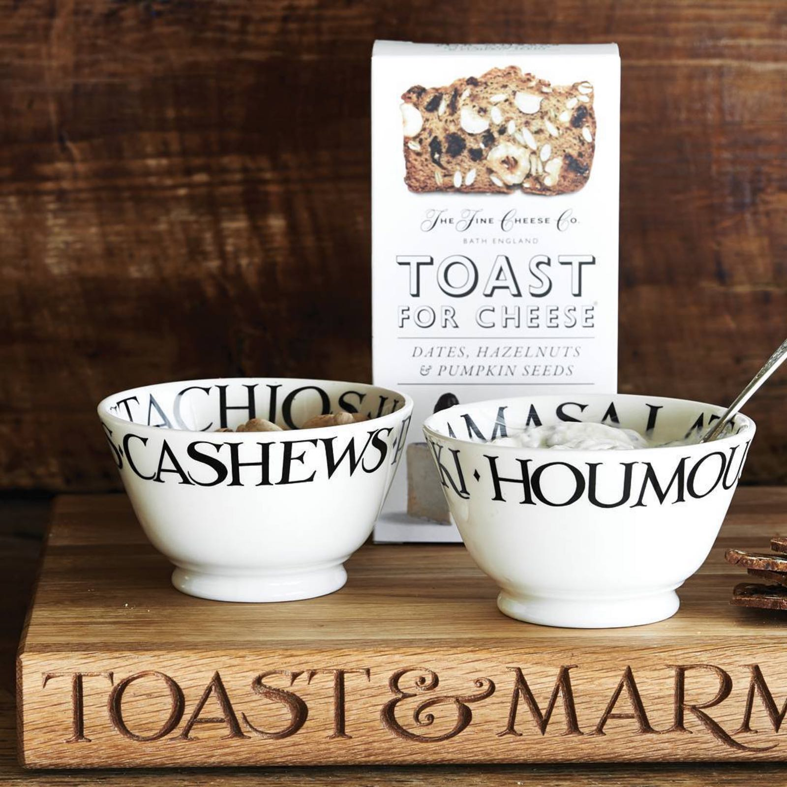 Emma Bridgewater Black Toast Dips Small Bowl