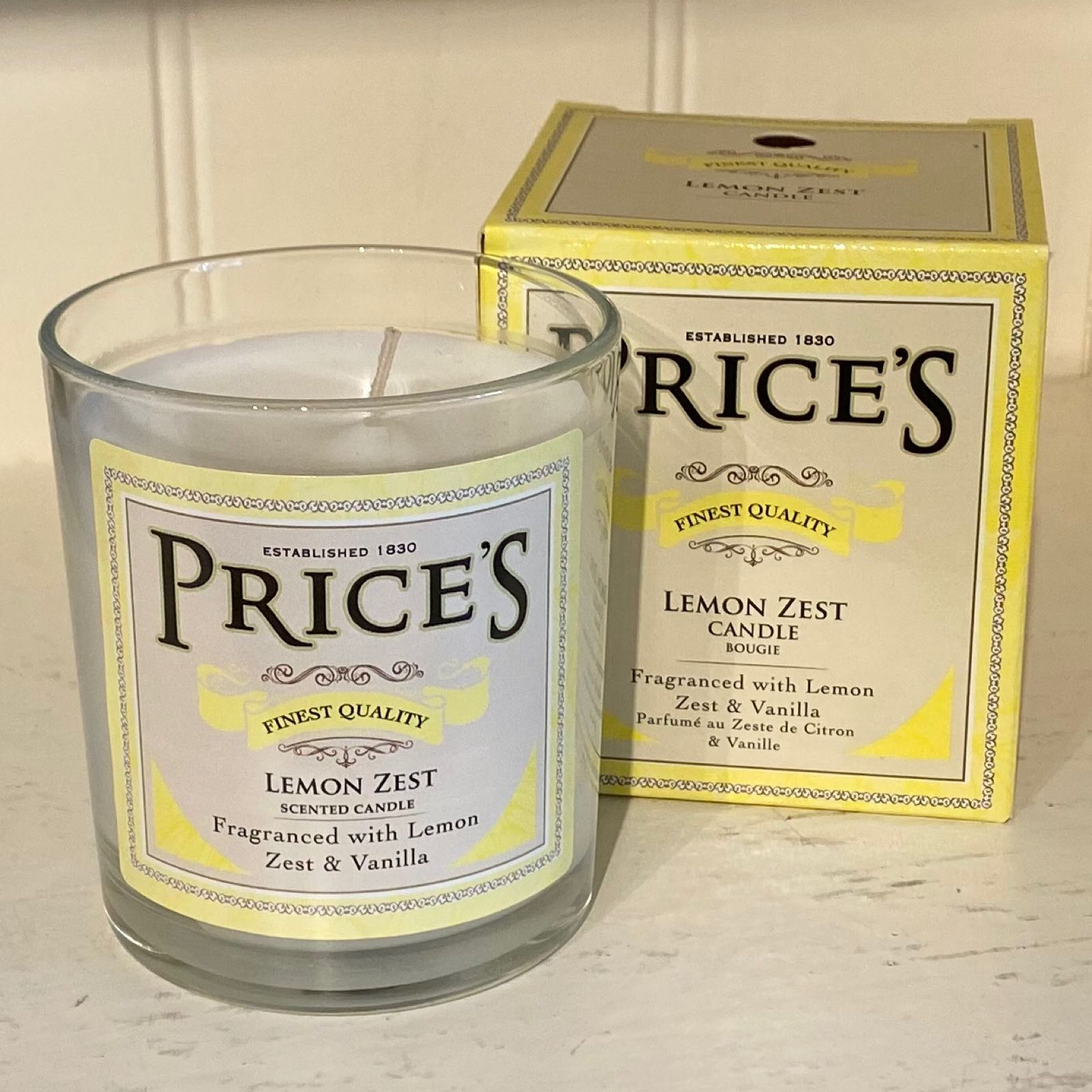 Lemon Zest Heritage Candle