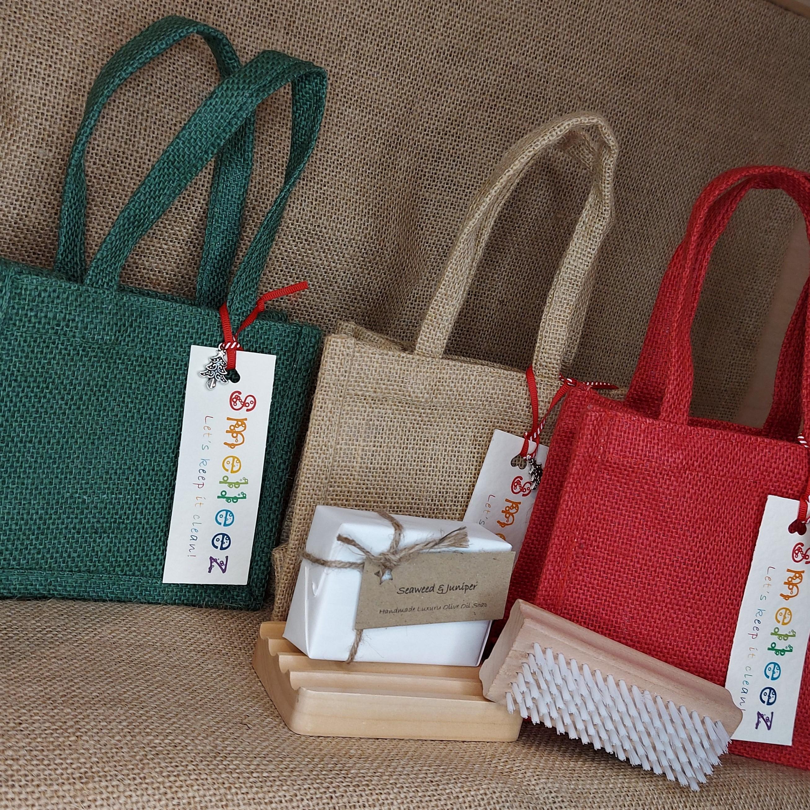 Mini Jute Bag Gift Set
