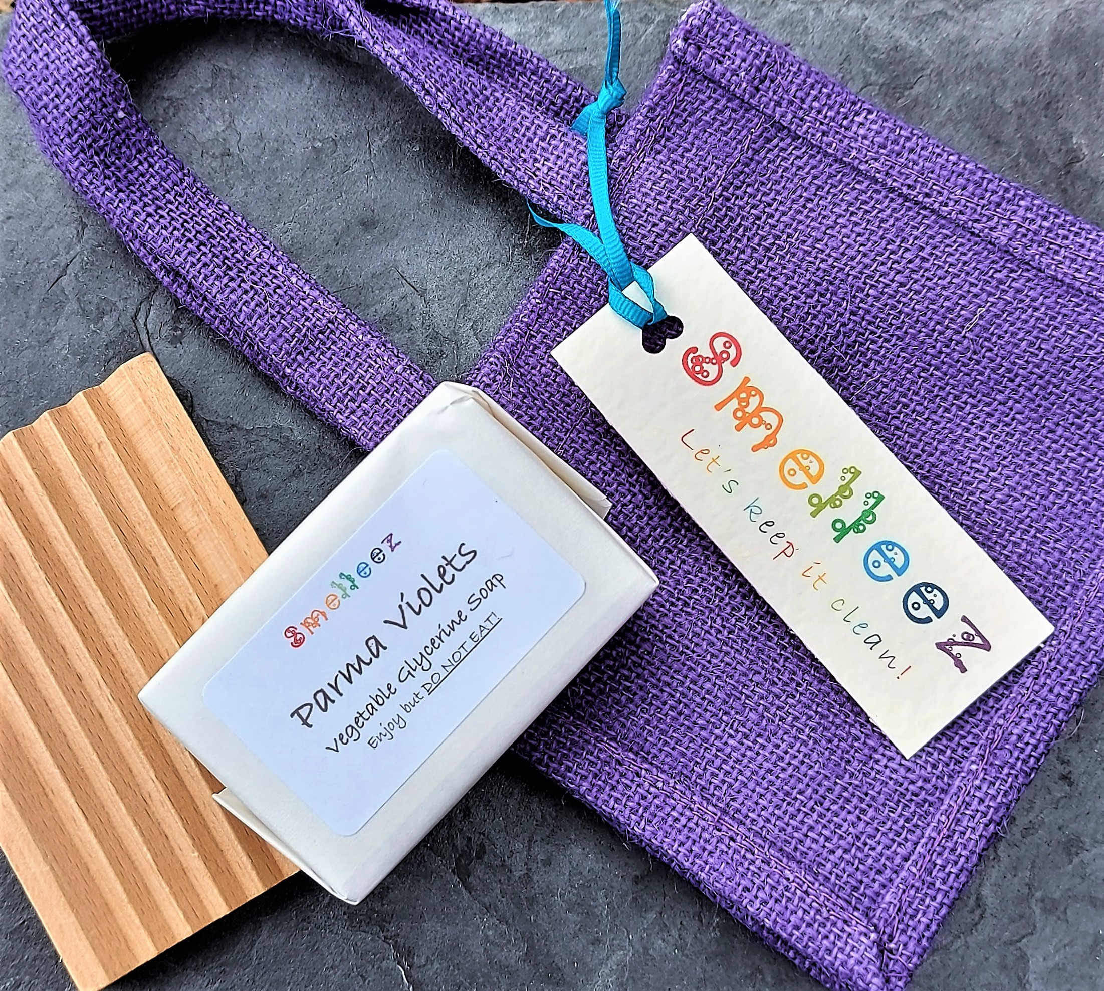 Mini Jute Gift Bag