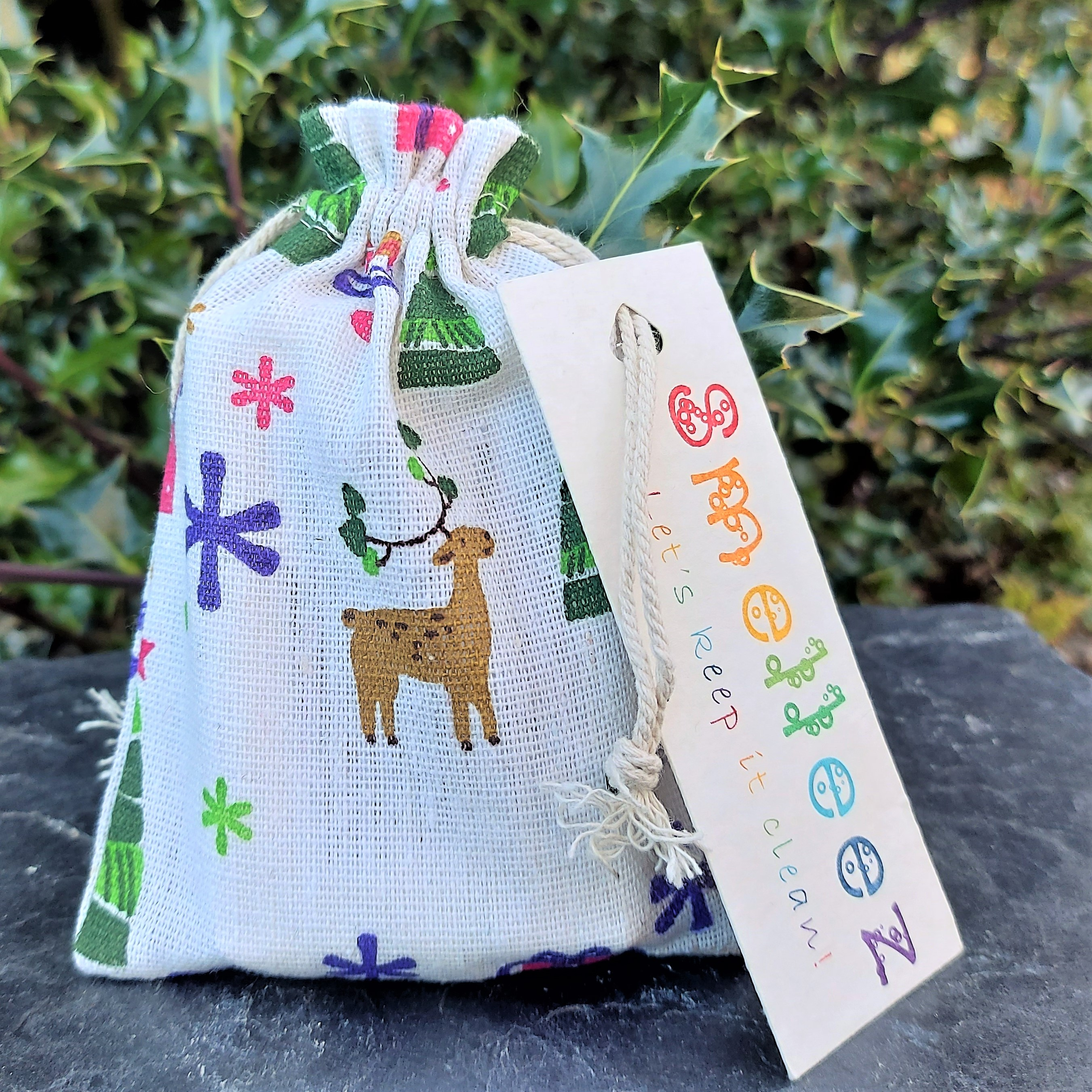 Reindeer Gift Bag (small)
