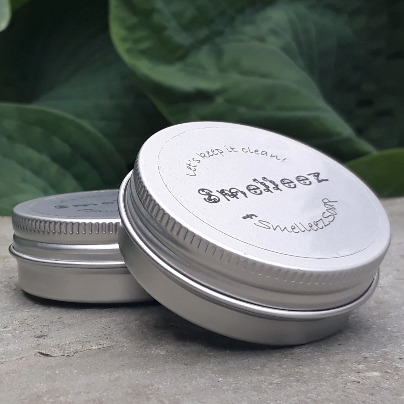 Pocket-Size Soap Tin