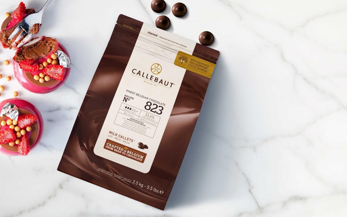 Callebaut 823 milk 2.5kg