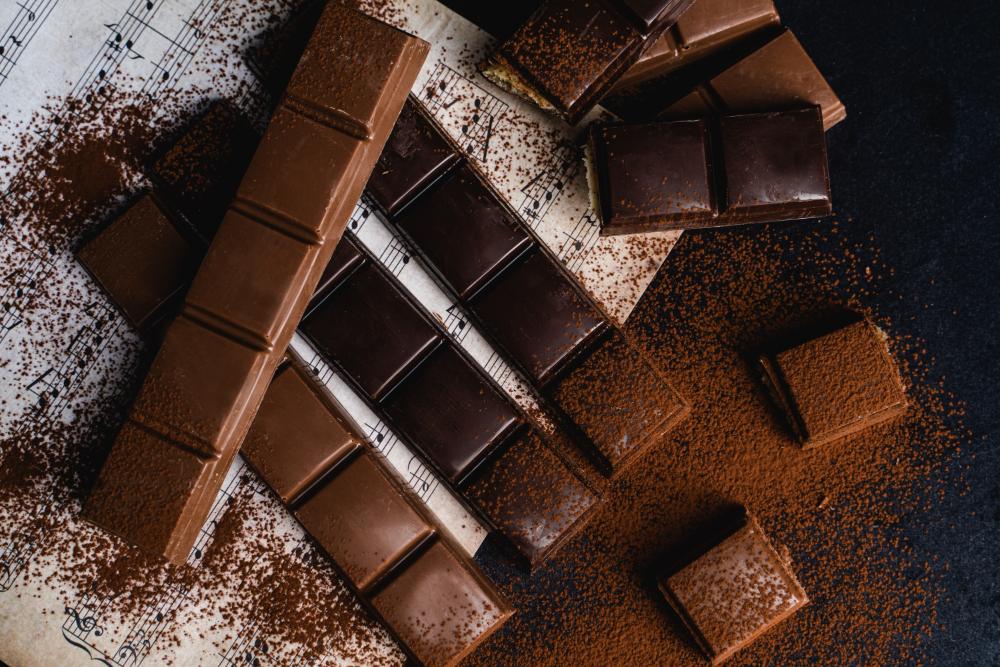 Sjokolade konfekt bar