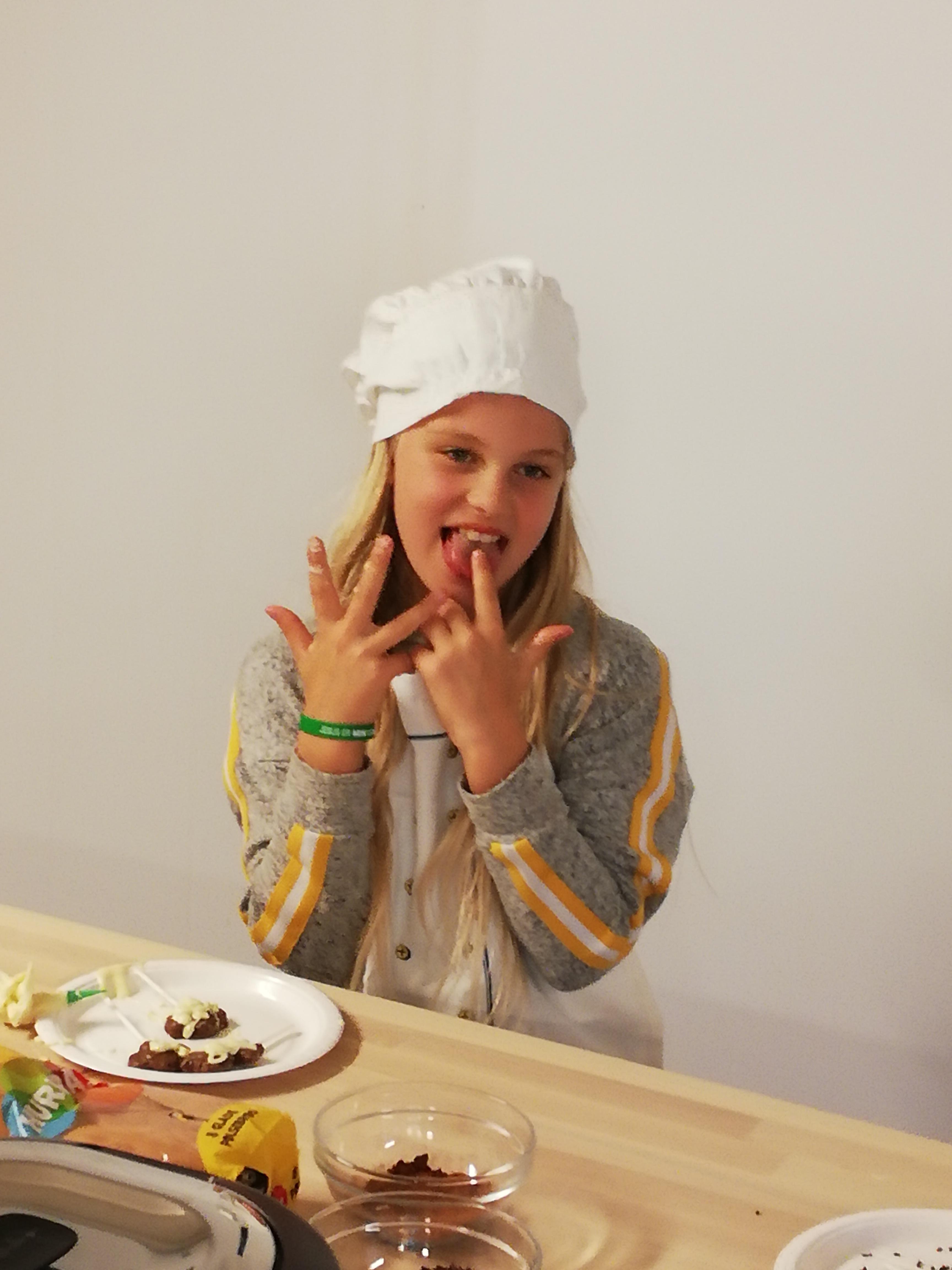 Sjokolade-bursdagfest