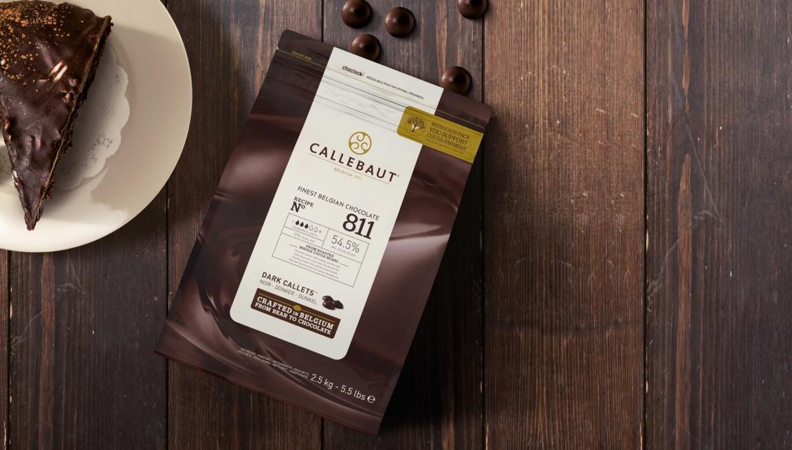Callebaut Callets Dark 811 2500 grams