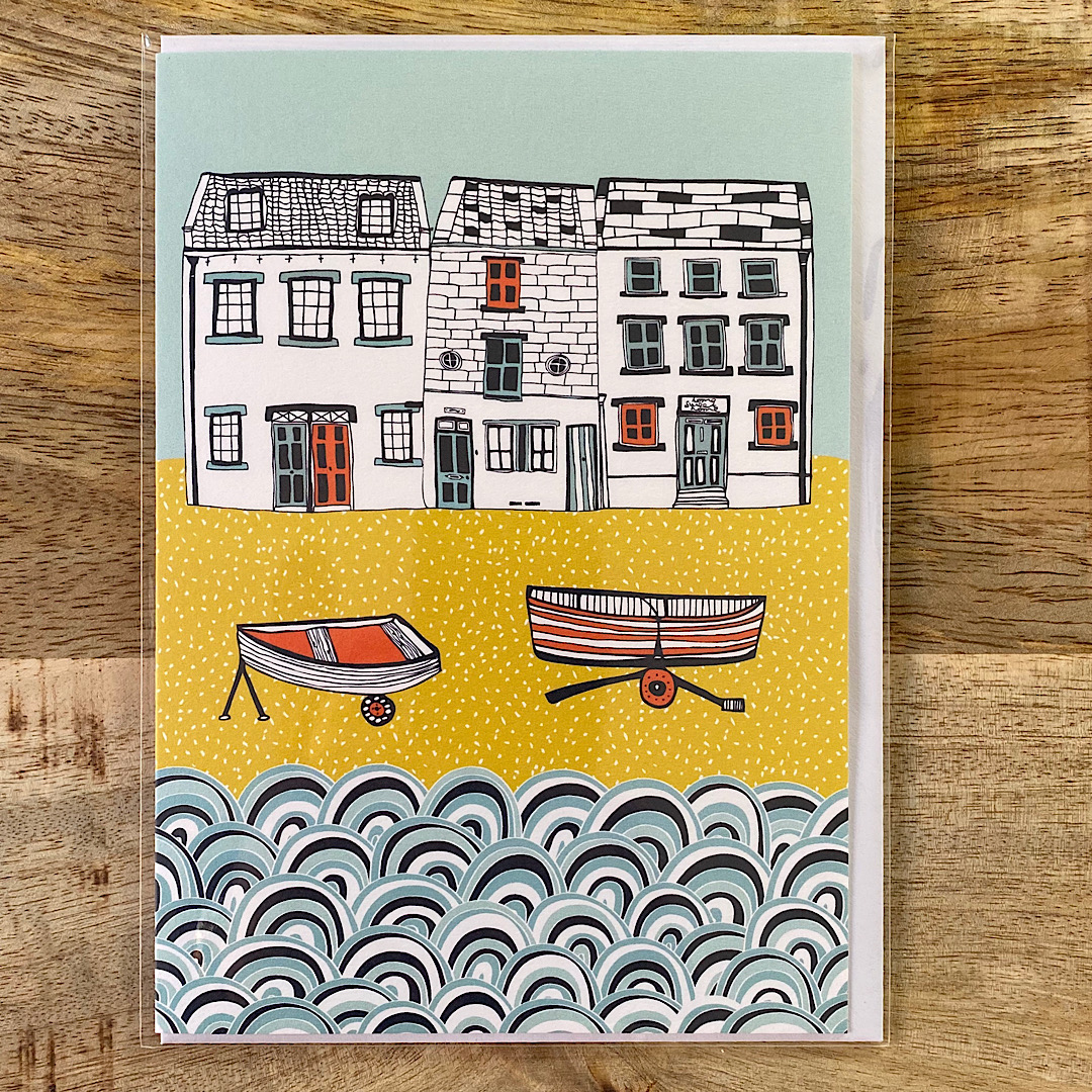 Jessica Hogarth - 2 Boats Card