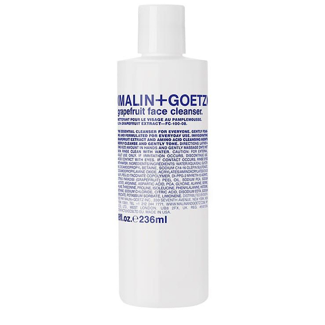 Malin and Goetz Grapefruit Face Cleanser - 236ml