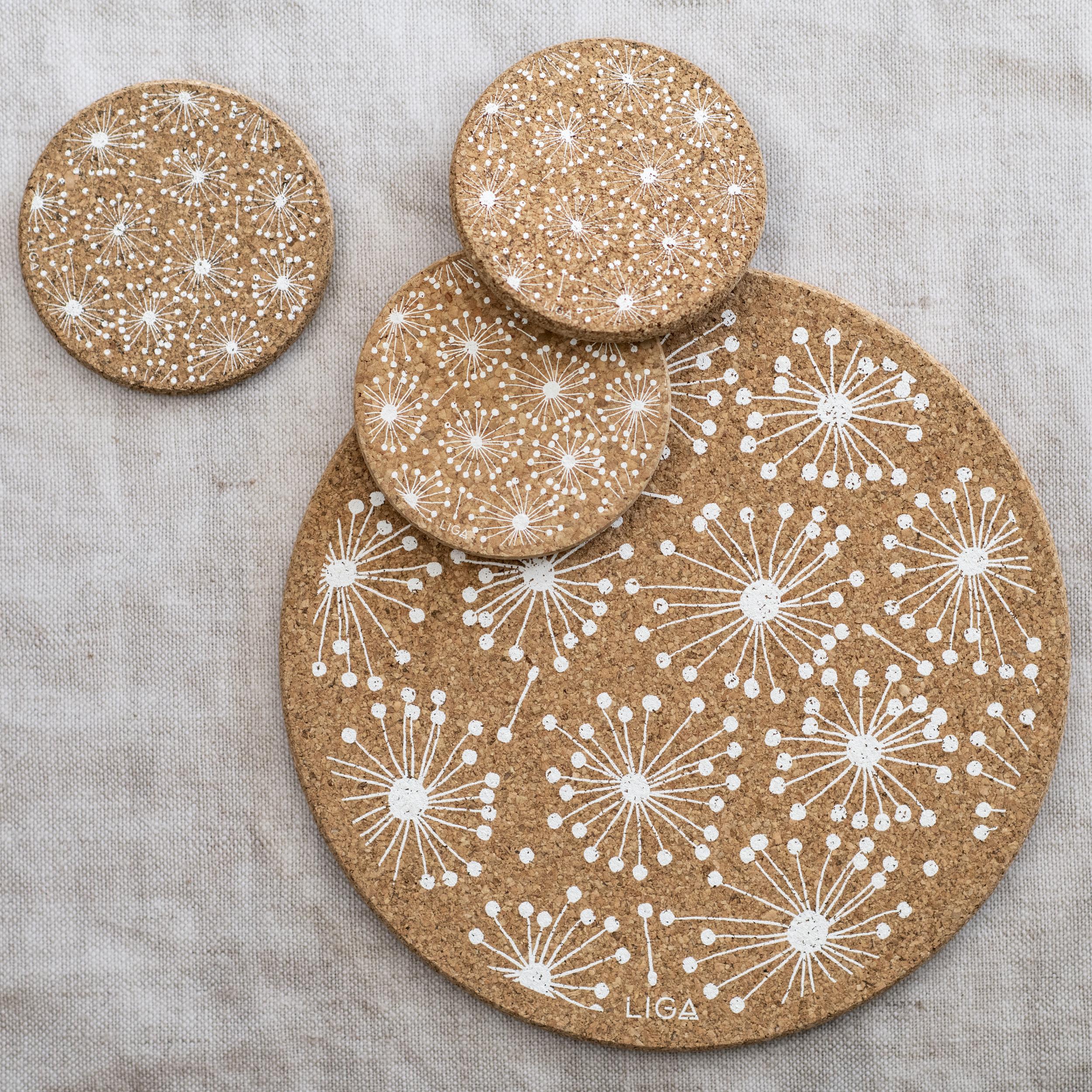 Cork Dandelion Placemat