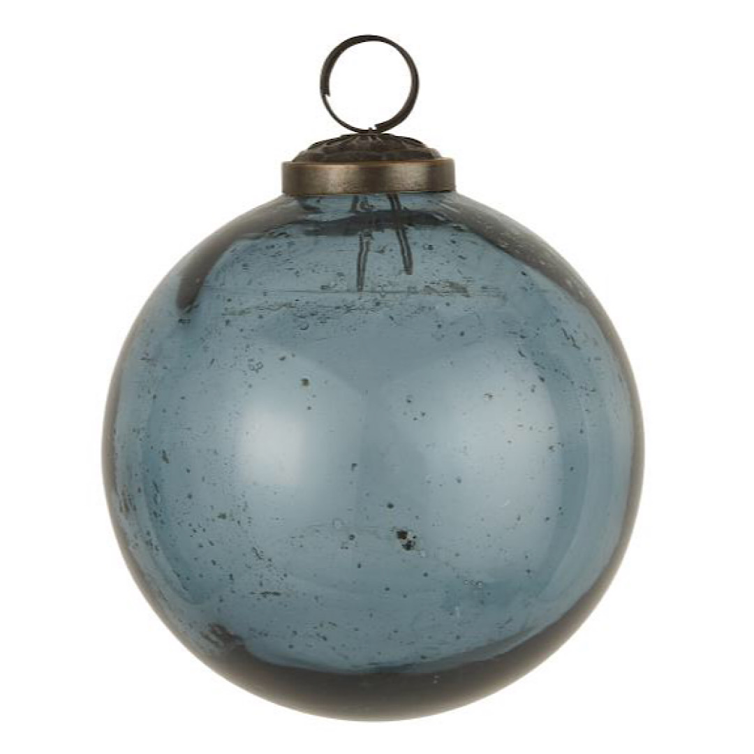 Blue Glass Bauble