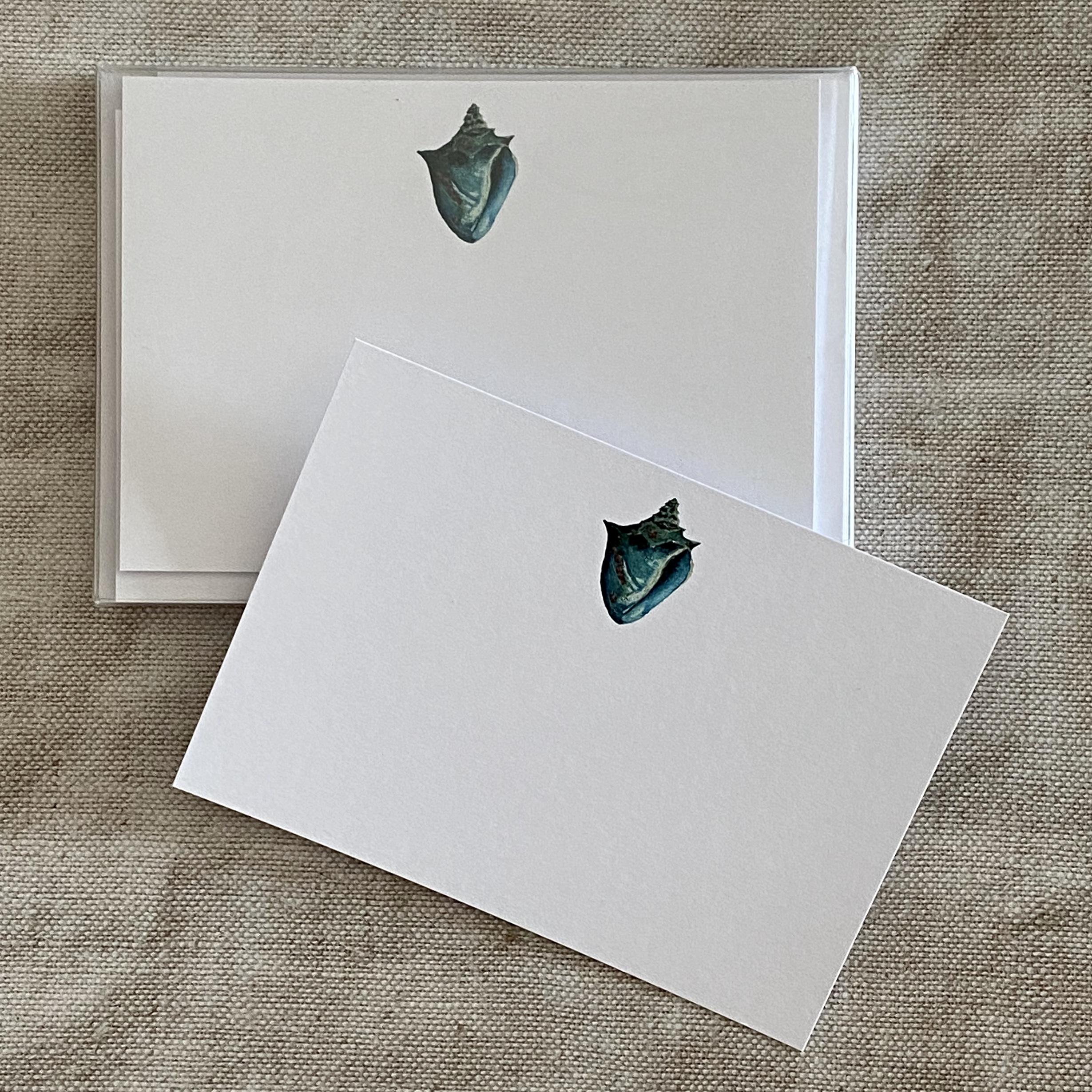 Sea Conch Correspondence Cards