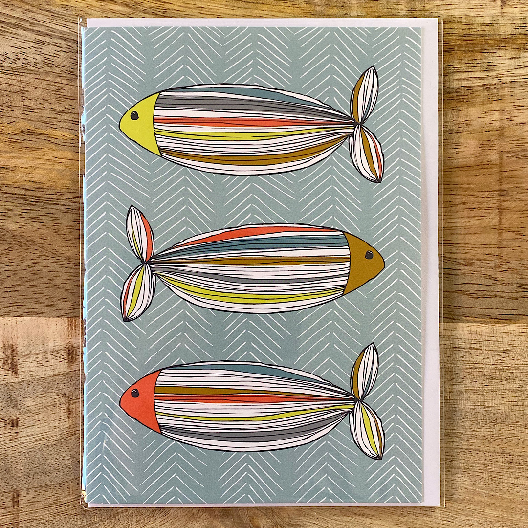 Jessica Hogarth - 3 Fish Card