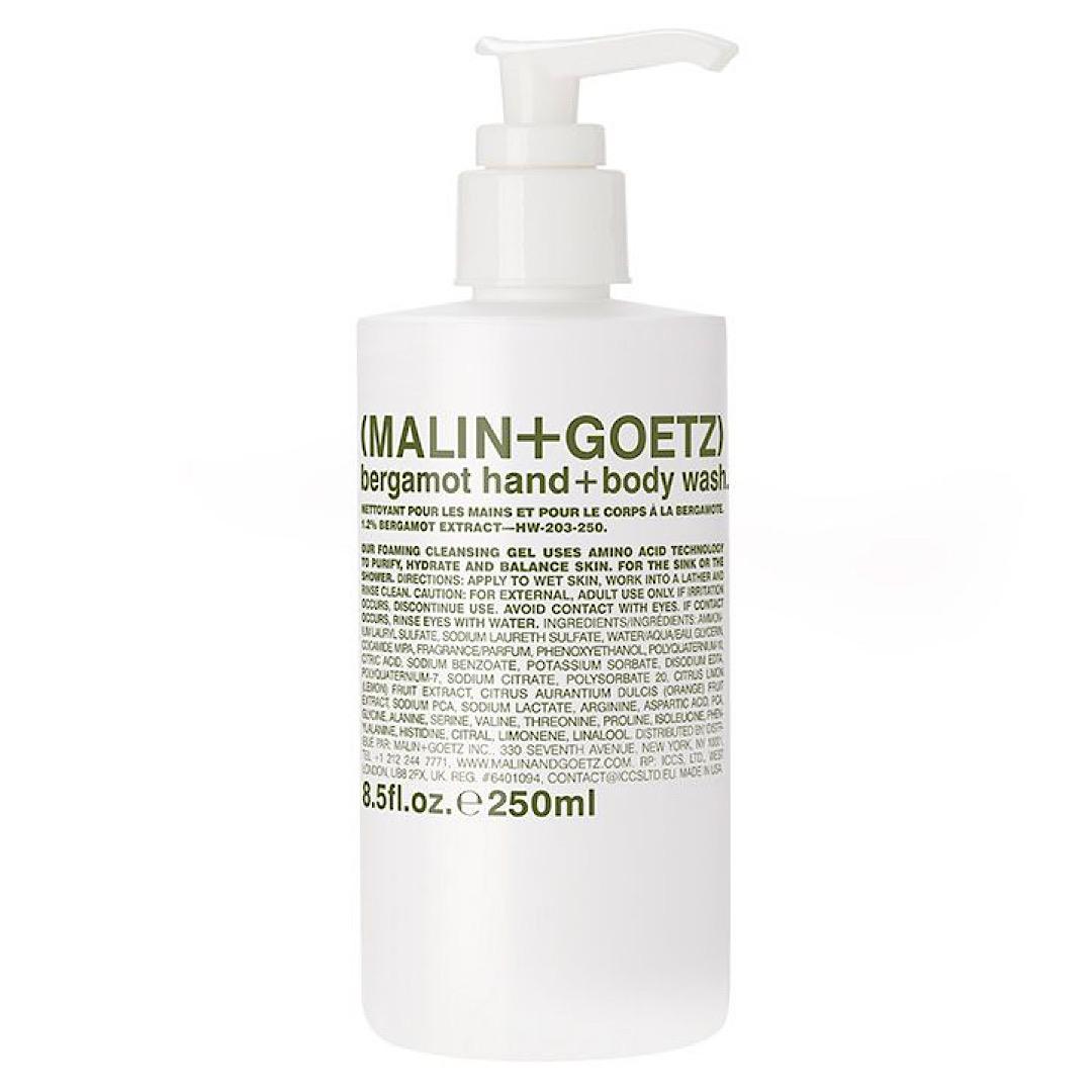 Malin and Goetz Bergamot Hand and Body Wash - 250ml