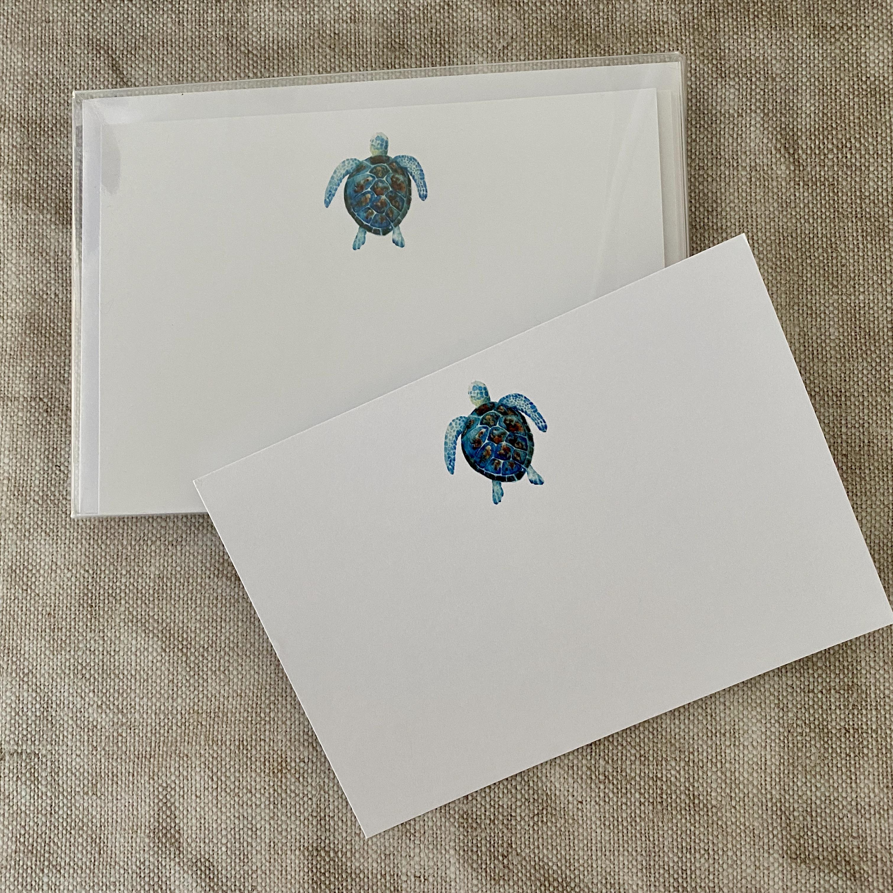 Sea Turtle Correspondence Cards