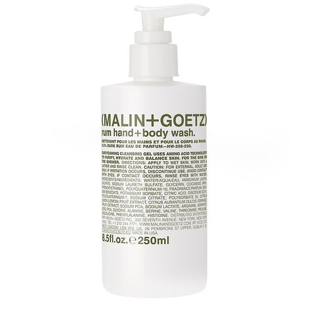 Malin and Goetz Rum Hand and Body Wash - 250ml