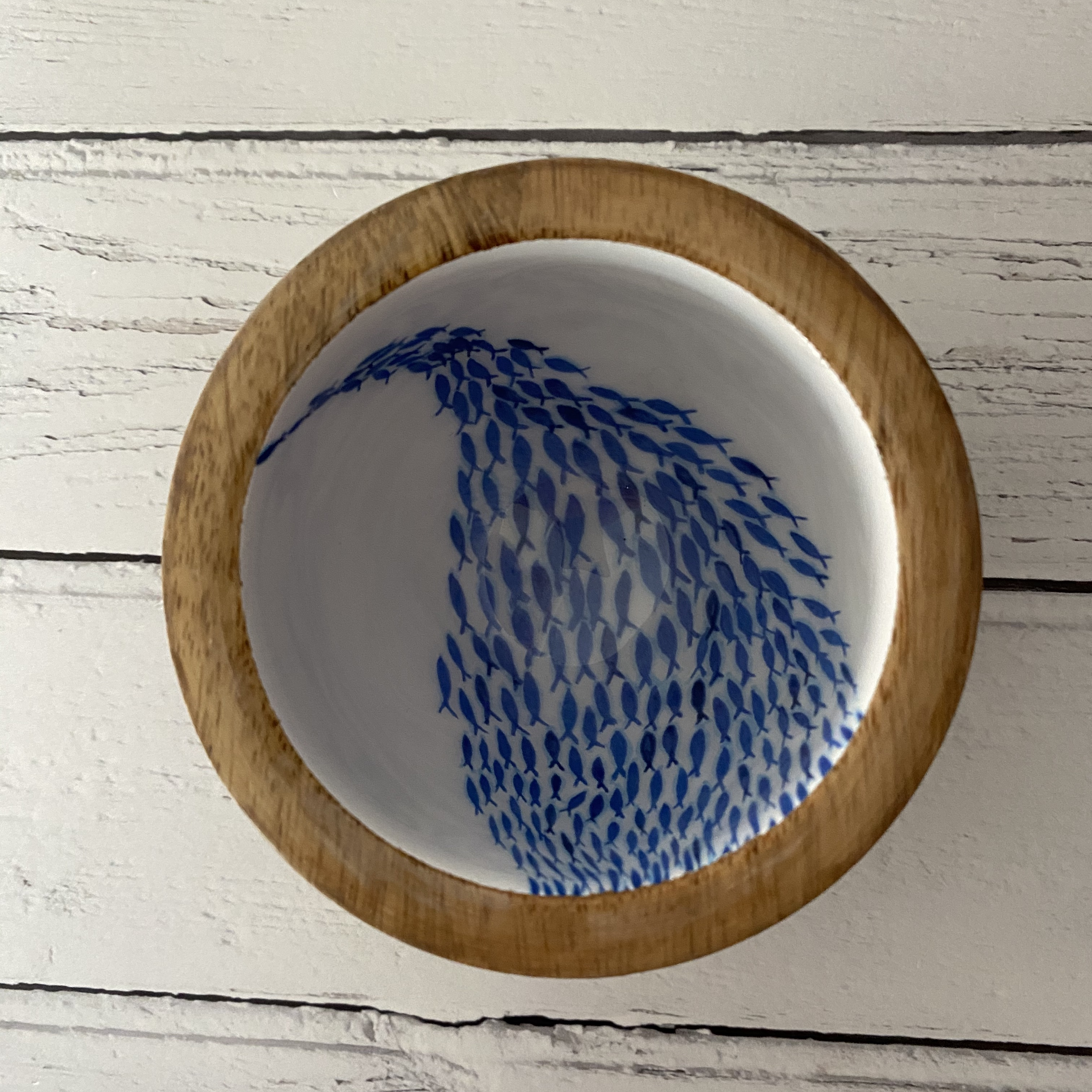 Fish Shoal Nut Bowl