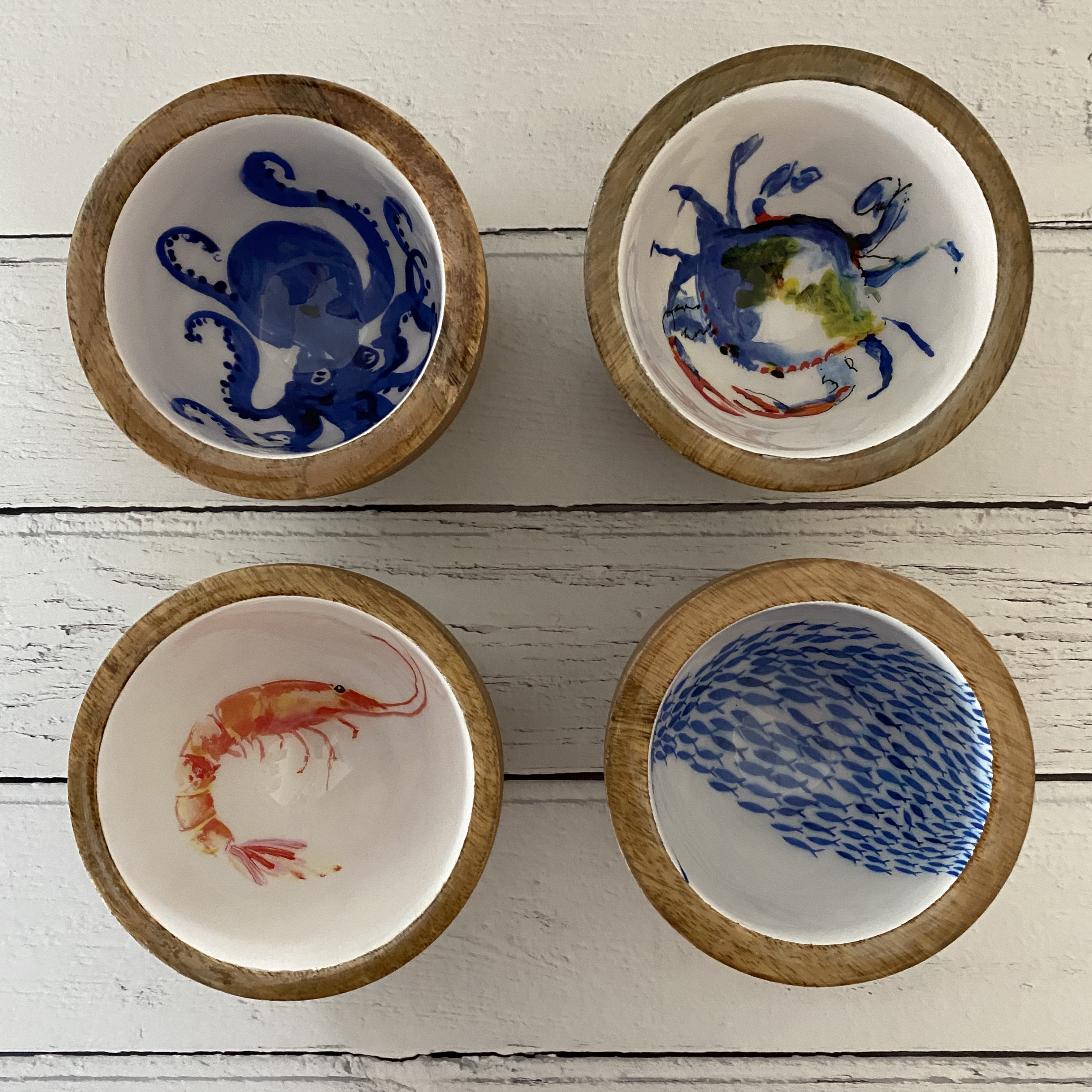 Fish Shoal Nut Bowl