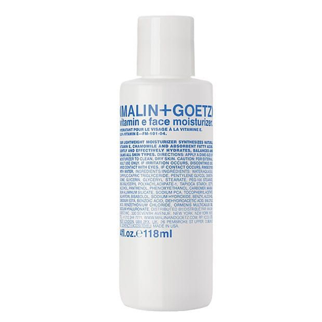 Malin and Goetz Vitamin E Face Moisturiser- 118ml