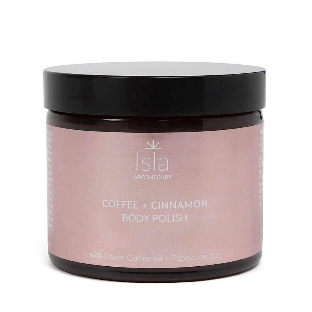 Isla Apothecary Coffee + Cinnamon Body Polish