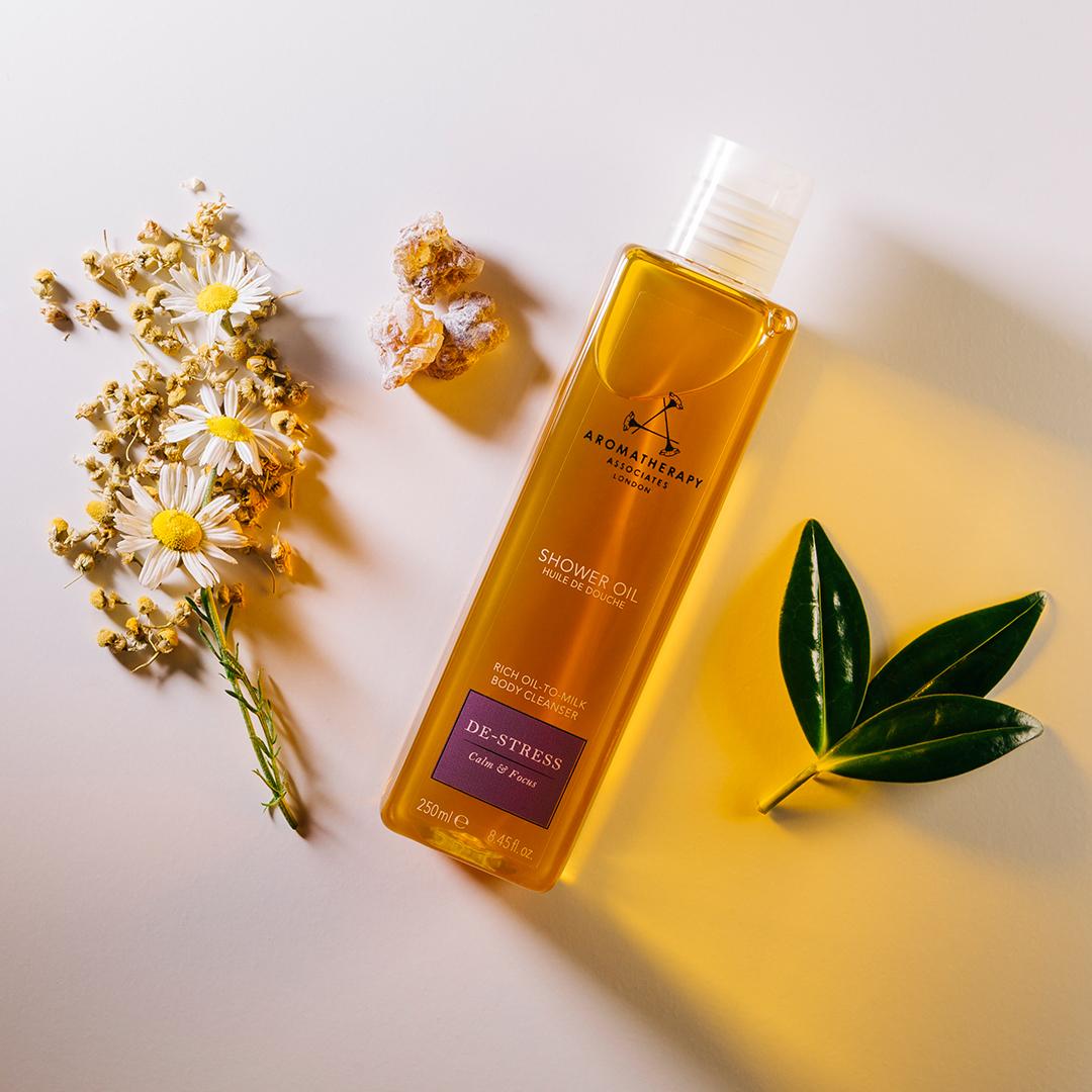 Aromatherapy Associates-De-Stress Shower Oil