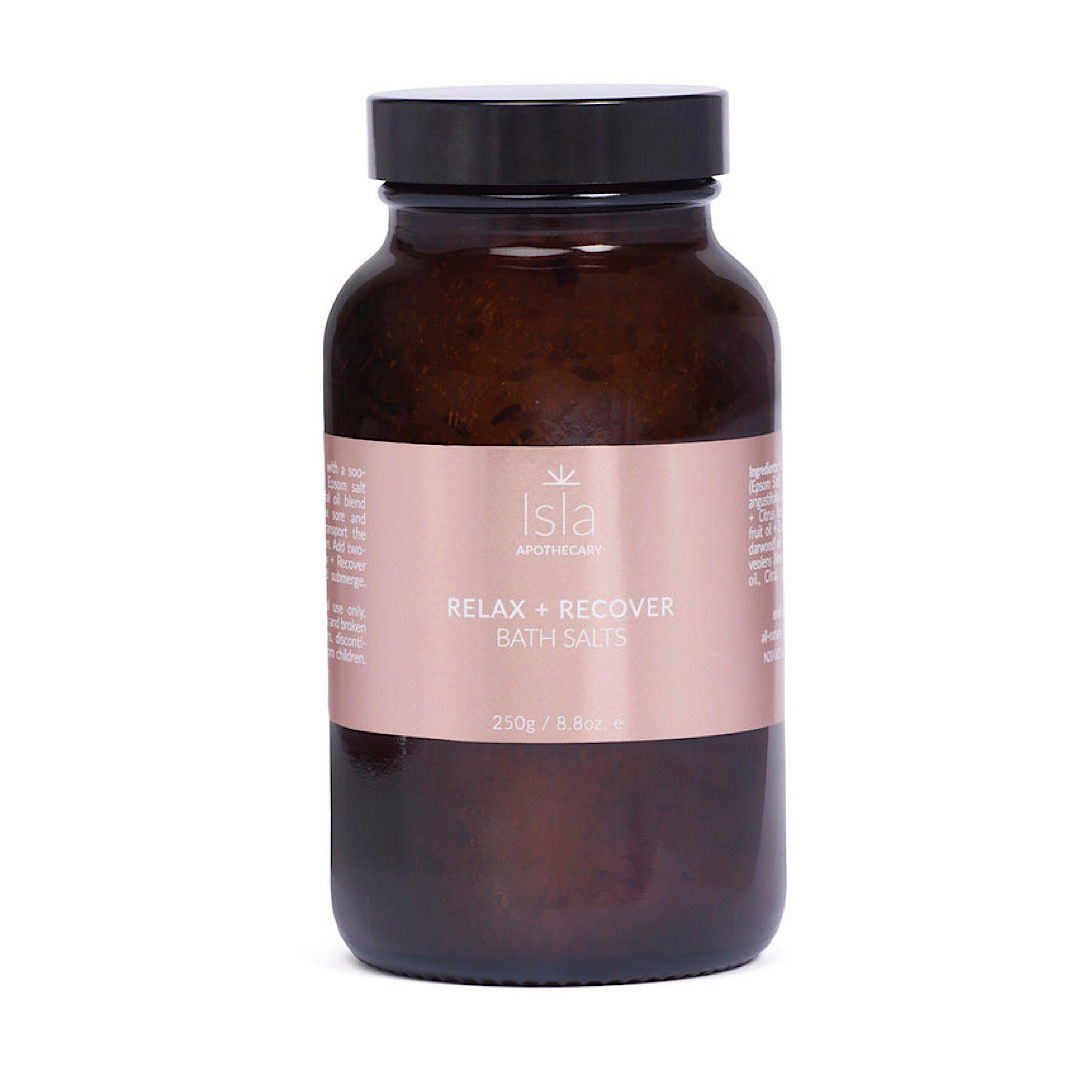 Isla Apothecary Relax + Recover Bath Salts - 250g