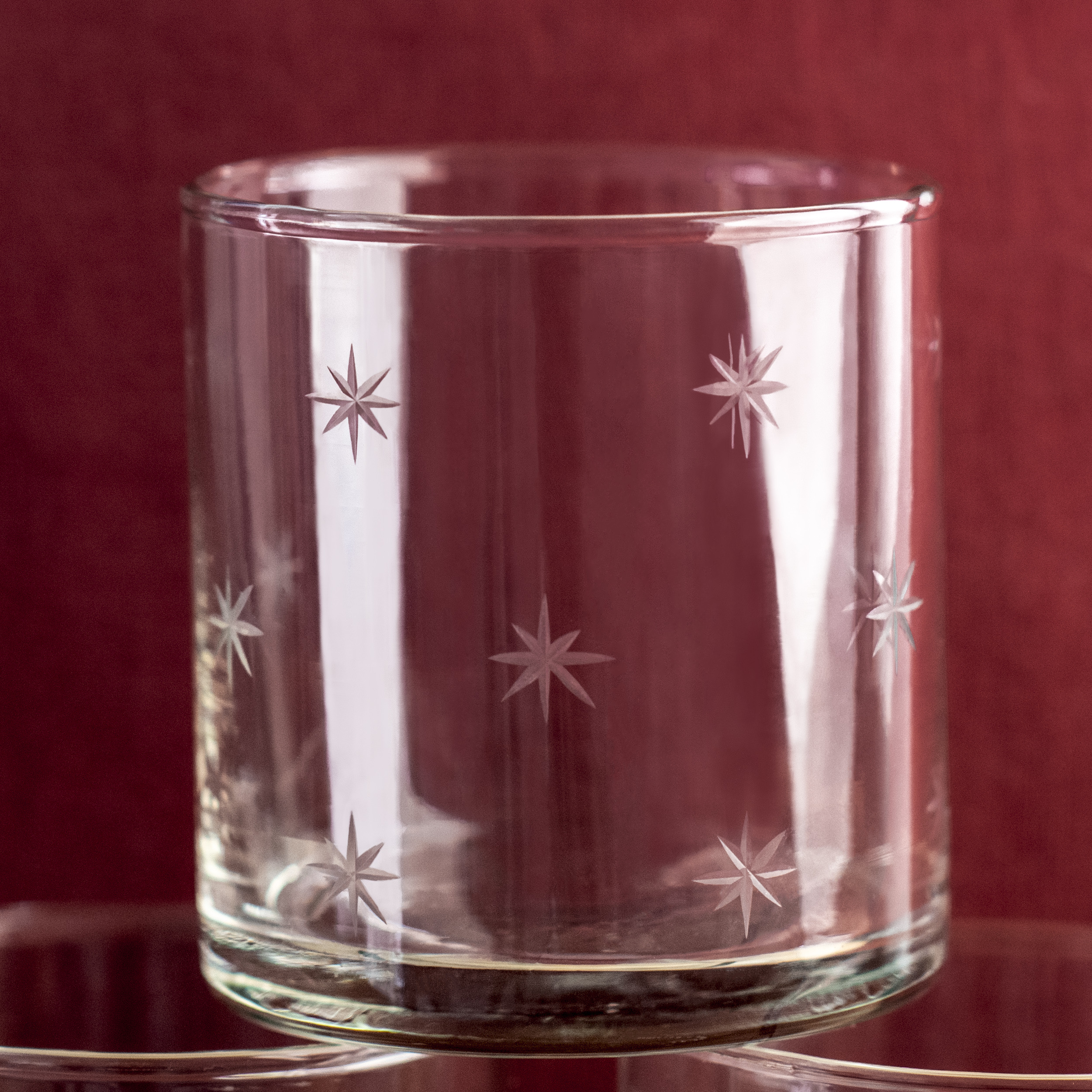 Etched Stars Tumbler