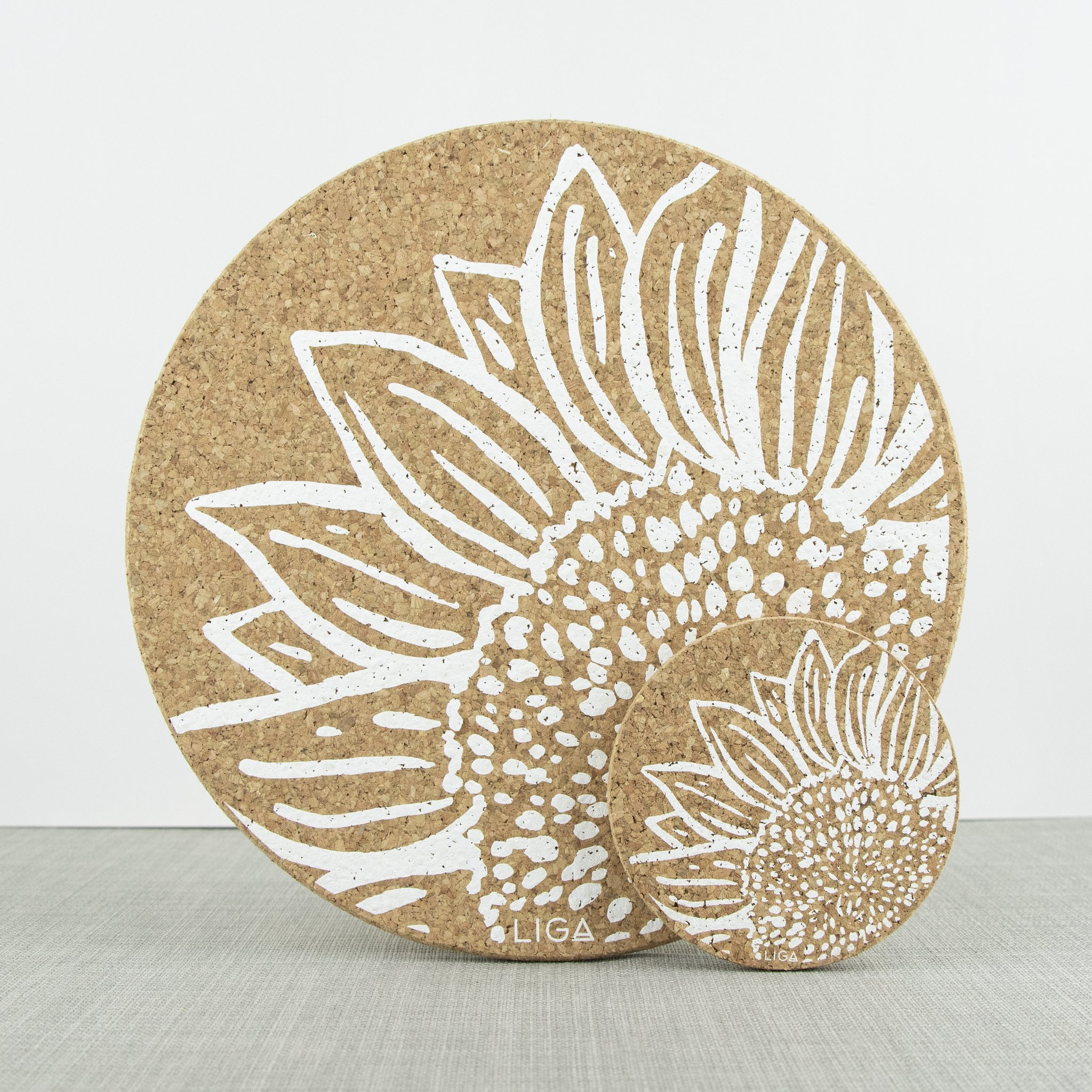 Cork Sunflower Placemat