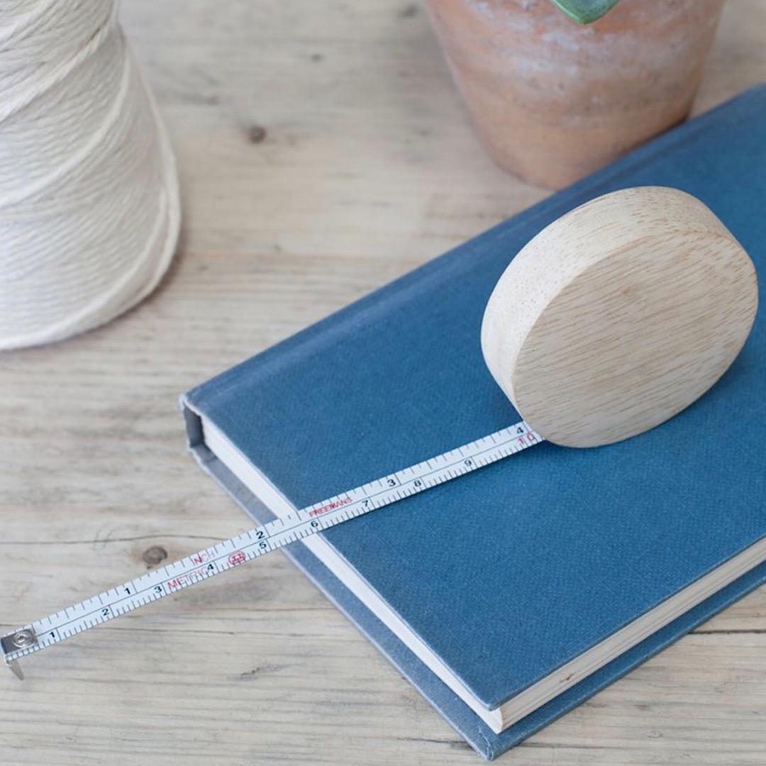 Hansa Wooden Tape Measure