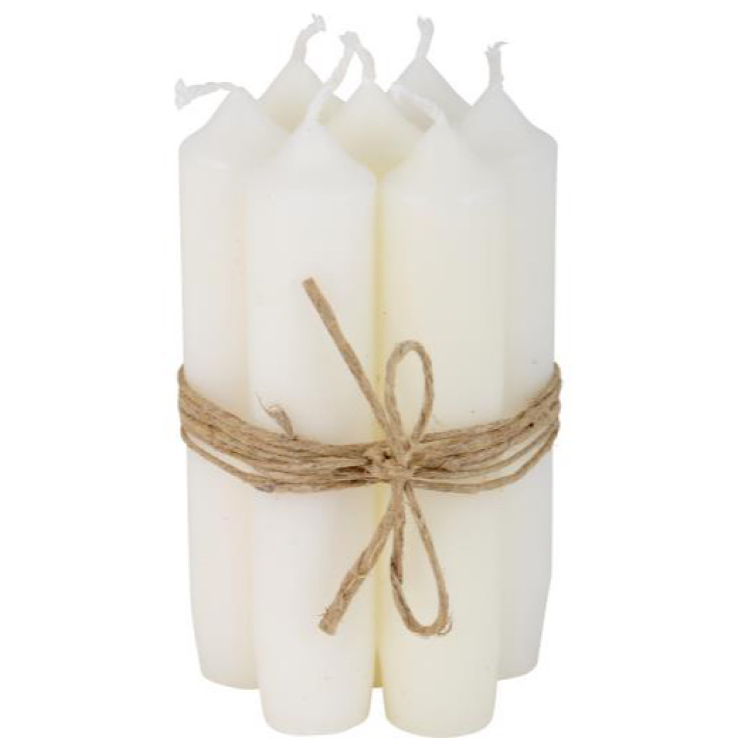 Small White Dinner Candle