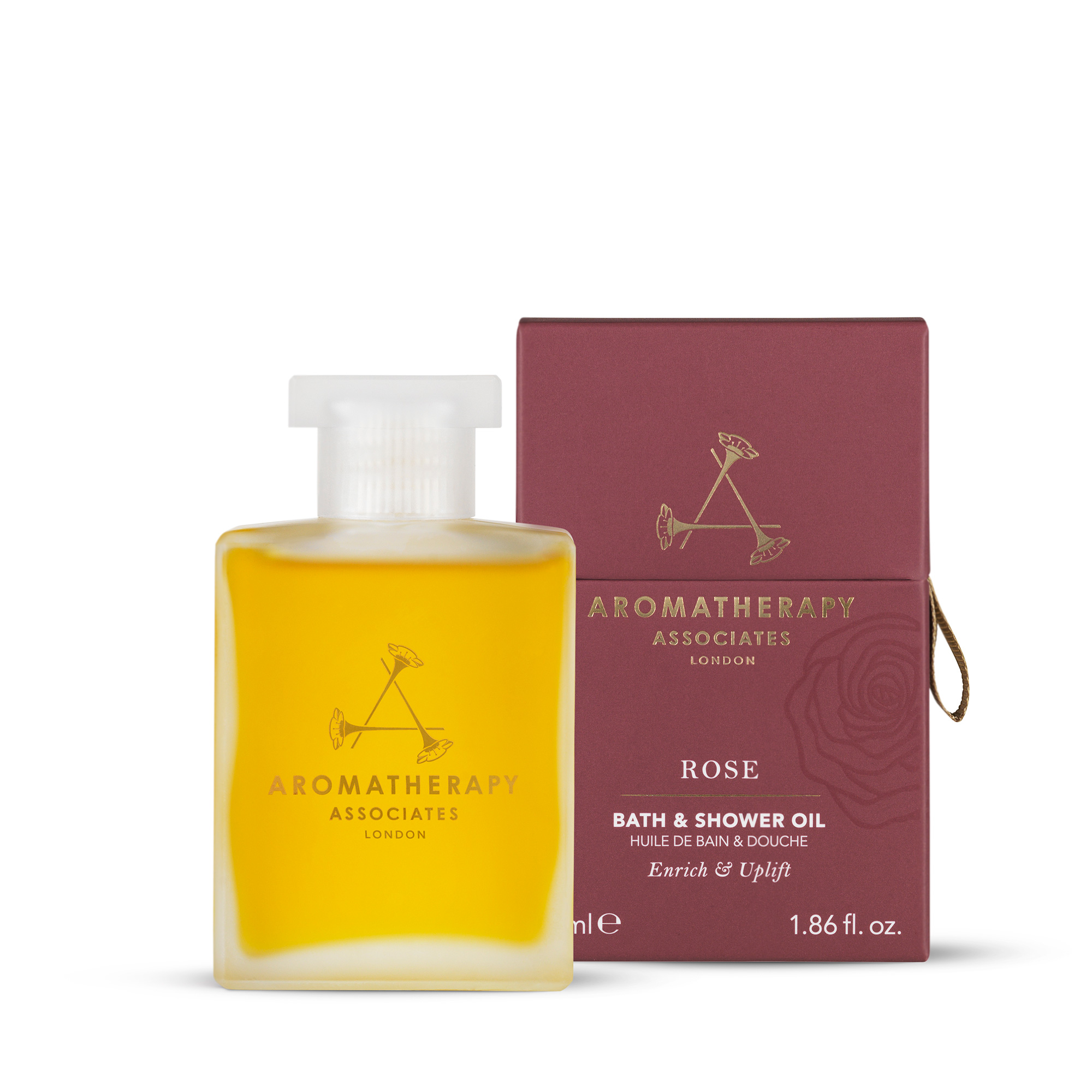 Aromatherapy Associates-Rose Bath And Shower Oil