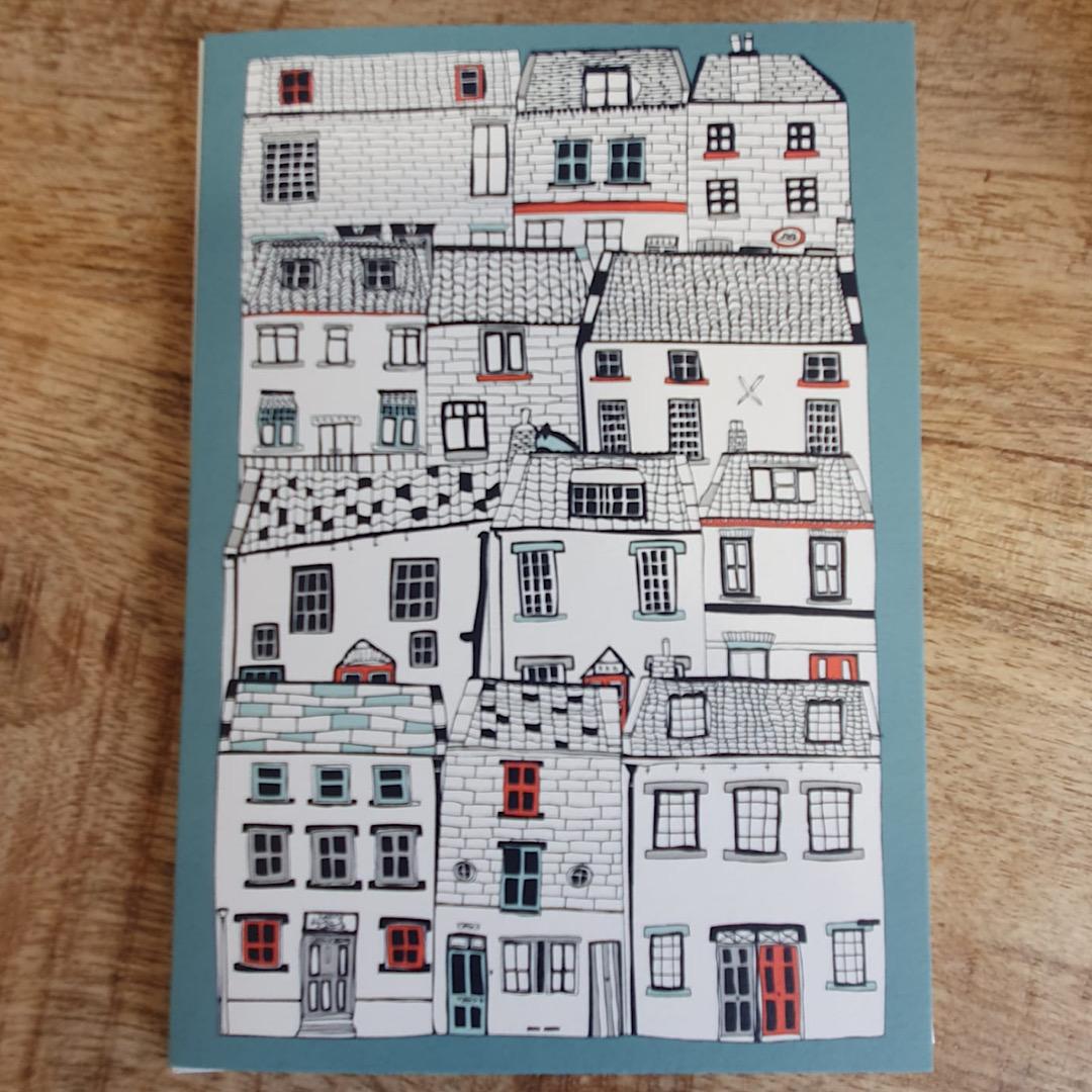 Jessica Hogarth - Coastal Houses Card