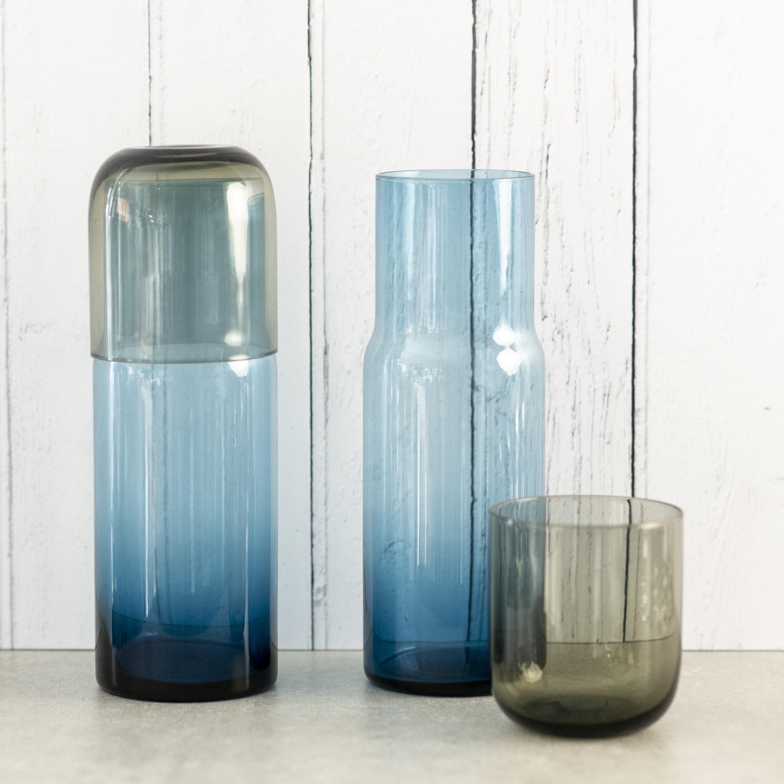 Multi-colour Decanter & Glass