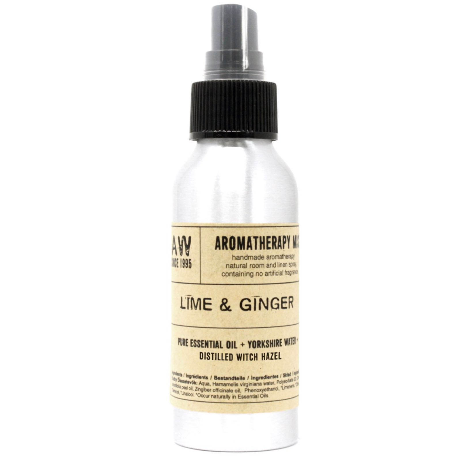 Lime & Ginger Aromatherapy Mist