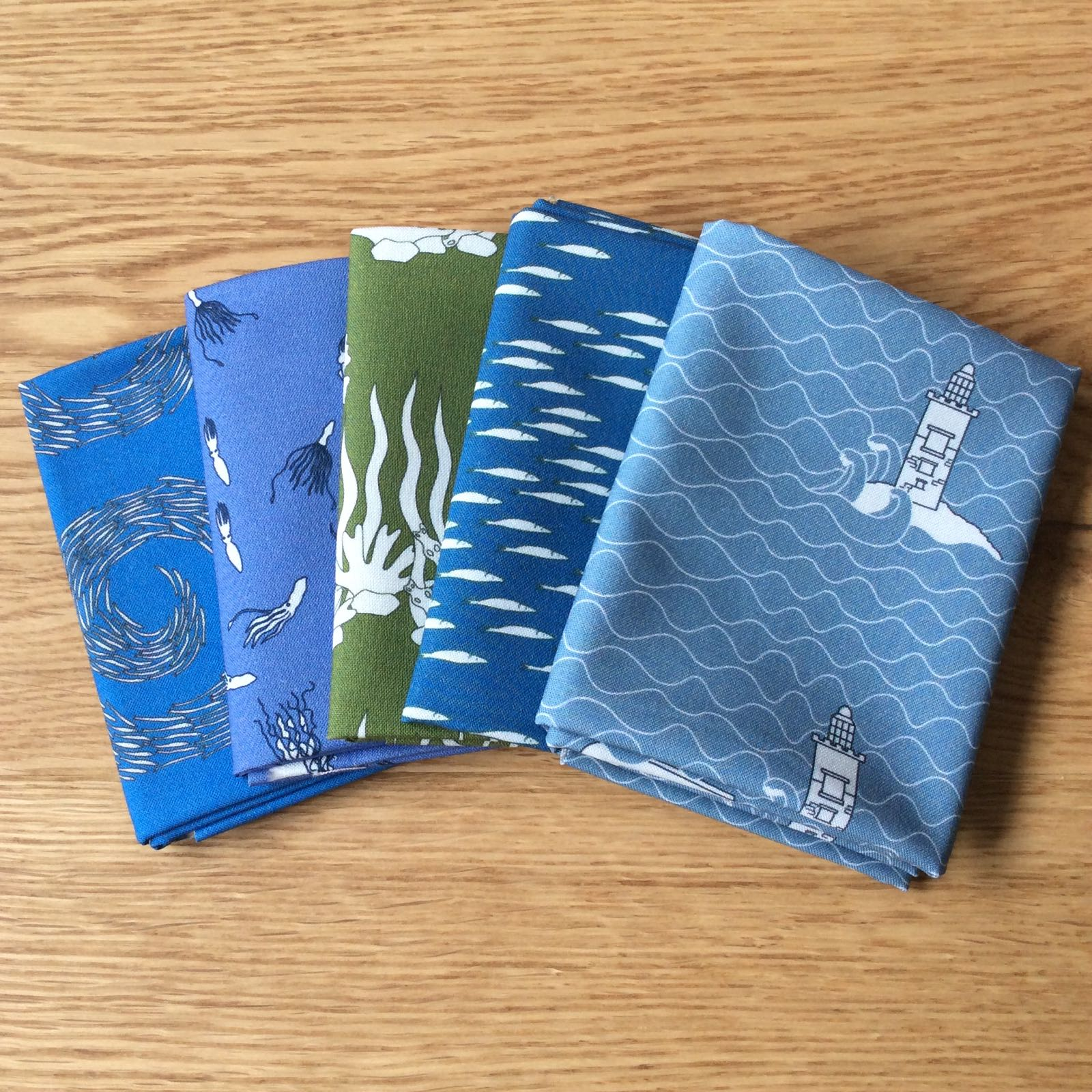 At Sea fat quarter bundle