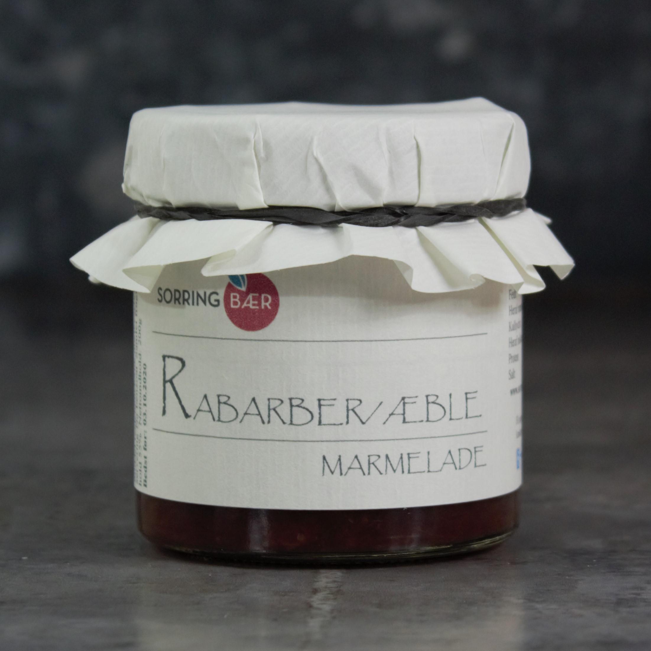 Rabarber/æblemarmelade, 200g